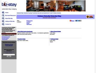calcutta.biz-stay.com screenshot