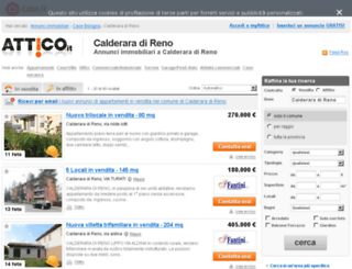 calderaradireno.attico.it screenshot