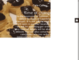 cale-cafe.com screenshot