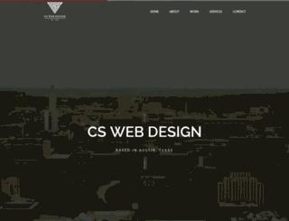 calebsanchez.com screenshot