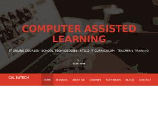 caledtech.com screenshot