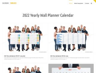 calendar-template.haden.eu screenshot