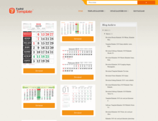 calendar-vector.blogspot.com screenshot