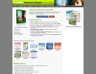calendar.a4desk.com screenshot