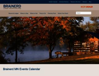 calendar.brainerd.com screenshot