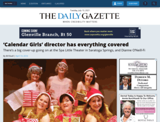 calendar.dailygazette.com screenshot