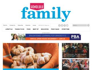 calendar.honolulufamily.com screenshot