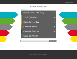 calendaran.com screenshot