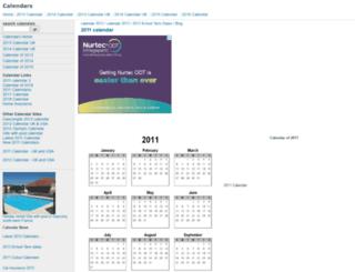calendardate.co.uk screenshot