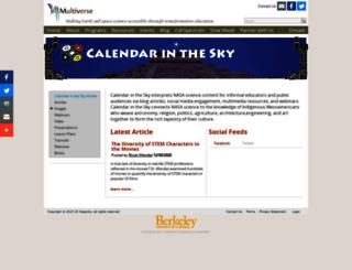 calendarinthesky.org screenshot