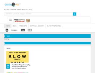 calendartoprint.com screenshot