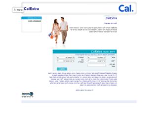 calextra.co.il screenshot