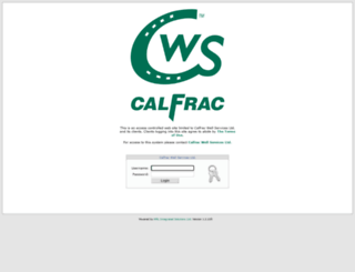 calfracus.mrlsolutions.com screenshot