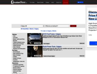 calgary.canadianlisted.com screenshot