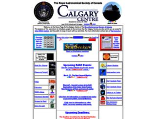calgary.rasc.ca screenshot