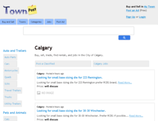 calgary.townpost.ca screenshot