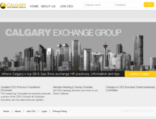 calgaryexchangegroup.com screenshot