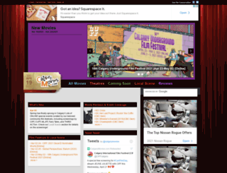 calgarymovies.com screenshot