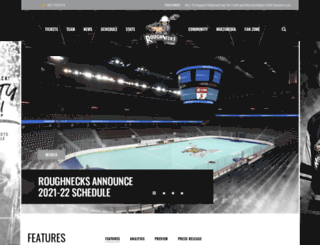 calgaryroughnecks.com screenshot