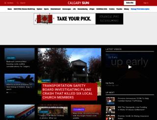 calgarysun.com screenshot