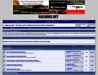 calguns.net screenshot