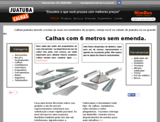 calhasjuatuba.com.br screenshot