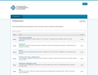 calhoun.academicworks.com screenshot