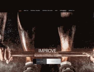 caliberfit.com screenshot