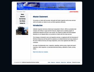 calibinspections.com screenshot