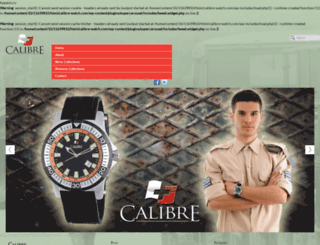 calibre-watch.com screenshot