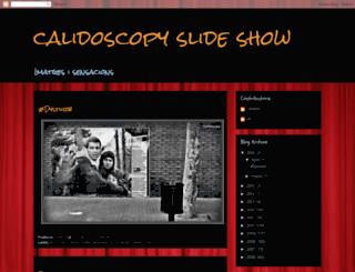 calidoscopy-slide-show.blogspot.com screenshot