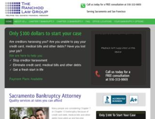 california-bankruptcyattorney.com screenshot