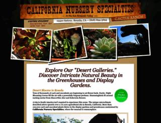 california-cactus-succulents.com screenshot