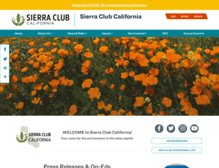 california2.sierraclub.org screenshot