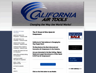 californiaairtools.com screenshot
