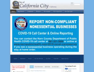 californiacity.com screenshot