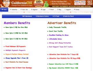 californiaclix.com screenshot