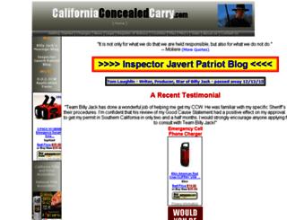 californiaconcealedcarry.com screenshot
