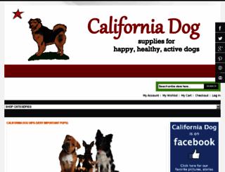 californiadog.com screenshot