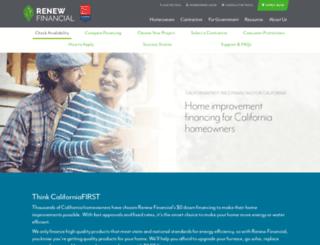 californiafirst.org screenshot