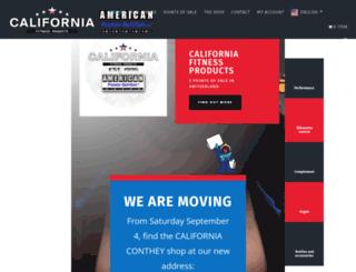 californiafitnessproducts.com screenshot