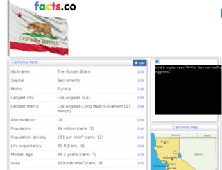 californiafunfacts.facts.co screenshot