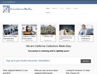 californiasmallclaimscollection.com screenshot