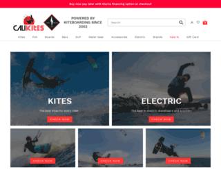calikites.com screenshot
