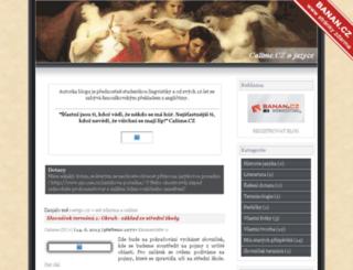 calime-cz.blogerka.cz screenshot