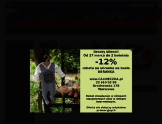 calineczka.pl screenshot