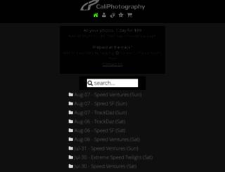 caliphotography.com screenshot