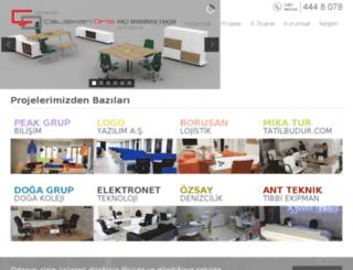 caliskanofis.com.tr screenshot