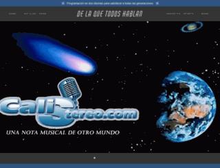 calistereo.com screenshot