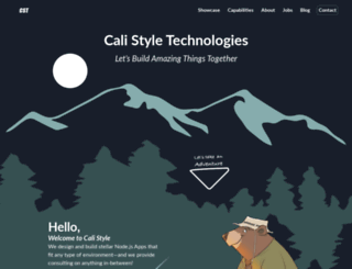 calistyletechnologies.com screenshot